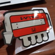JDM Style Sticker IVTEC machine