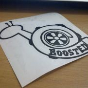 JDM Style Sticker boosted