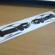 JDM Style Sticker drifting decal