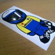JDM Style Sticker ESR spoon