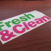 JDM Style Sticker fresh clean