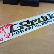 JDM Style Sticker greedy power