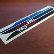 JDM Style Sticker door sticker trd sportivo set HITAM
