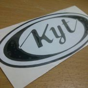 Biker Decal kyt