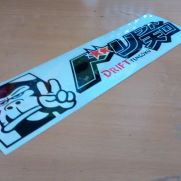 JDM Style Sticker monkey drift