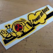 JDM Style Sticker snail power