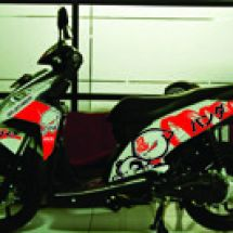 Motorcycle Graphic  vario B